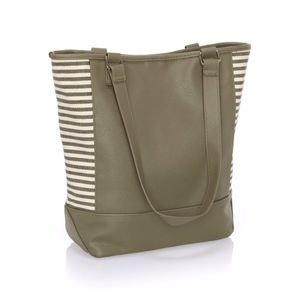 Thirty-One Colorblock Tote - Olive